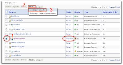 v2.0: Install Service OIM11g Weblogic